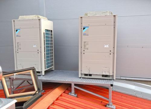 Klimatyzatory agregaty Daikin VRF VRV