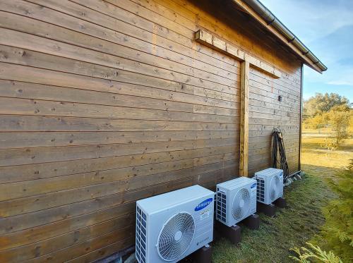Klimatyzatory agregaty Samsung Cassic Plus na gruncie
