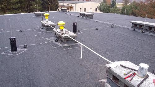 Wentylatory chemoodprorne przeciwwybuchowe montaż na dachu