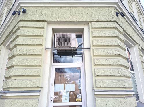 klimatyzator agregat Fuji Electric RSG12KMCC we wnęce okiennej