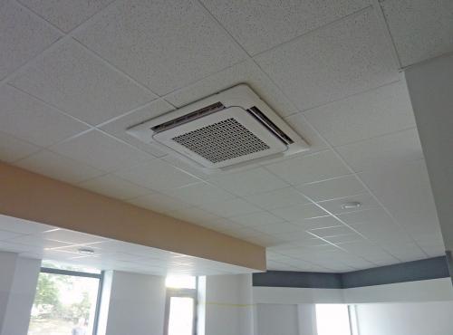klimatyzator kasetonowy Samsung